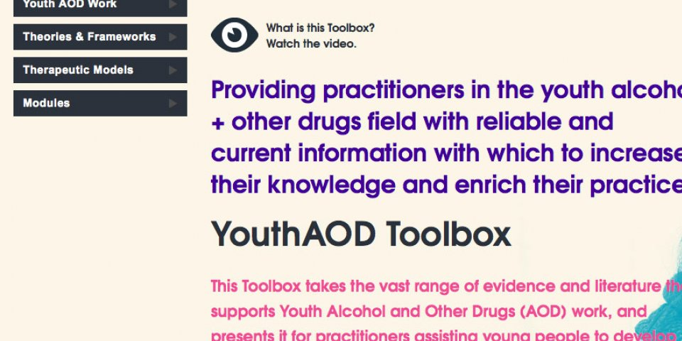 Youth AOD Toolbox